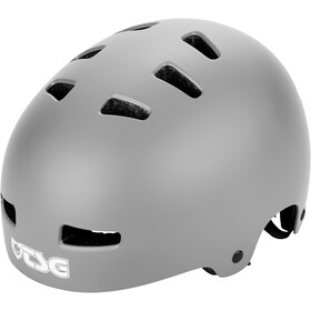 TSG Evolution Solid Color Kask rowerowy, satin coal